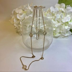 Guess Necklace in gold with Swarovski Crystals